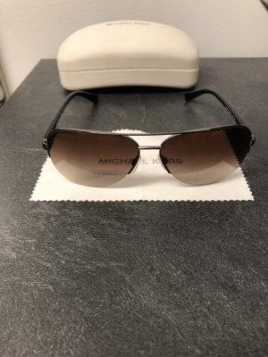 Michael Kors Okulary pilotki ciemnobrązowy-czarny