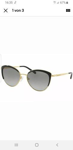 Michael Kors Okrągłe okulary przeciwsłoneczne czarny-złoto