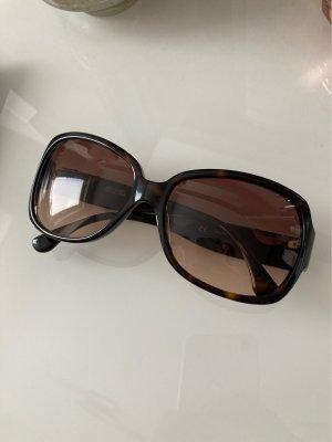 Michael Kors Gafas de sol ovaladas marrón oscuro-color oro