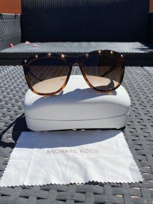 Michael Kors Angular Shaped Sunglasses brown