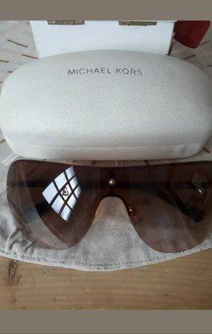 Michael Kors Gafas de sol ovaladas color bronce
