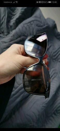 Michael Kors Hoekige zonnebril zwart-bruin