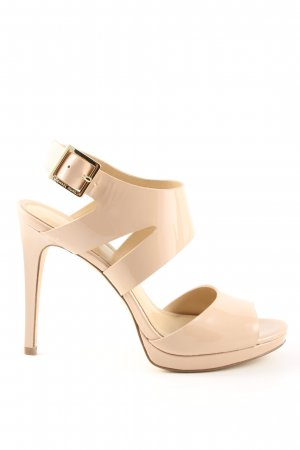 Michael Kors Spangen-Pumps creme-goldfarben Casual-Look