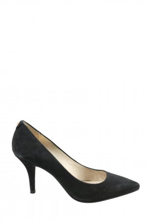 Michael Kors Spitz-Pumps schwarz Motivdruck Business-Look