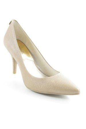 Michael Kors Spitz-Pumps beige Business-Look