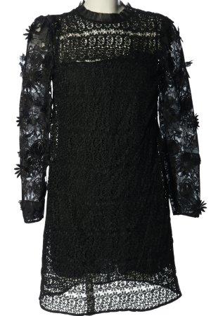 Michael Kors Spitzenkleid schwarz Casual-Look
