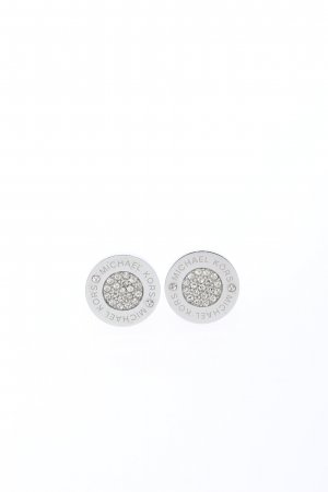 Michael Kors Boucle d'oreille incrustée de pierres argenté élégant