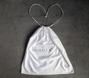 Michael Kors Bolso de tela blanco-color plata tejido mezclado
