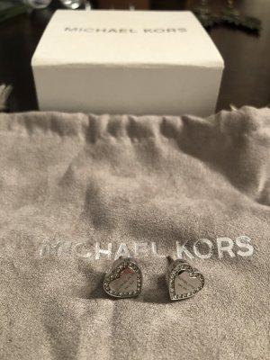 Michael Kors Stecker silber Herzform