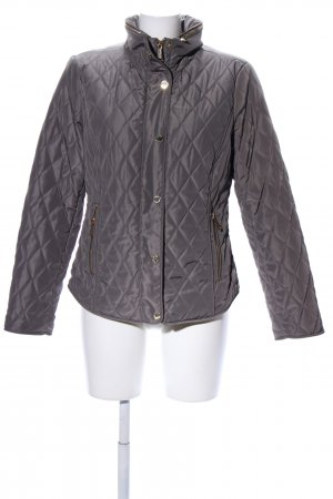 Michael Kors Steppjacke hellgrau Steppmuster Casual-Look