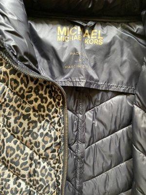 Michael Kors Steppjacke mit Leopard Muster