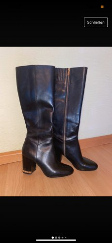 Michael Kors Heel Boots black-gold-colored
