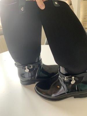 Michael Kors Botas de agua negro-color plata