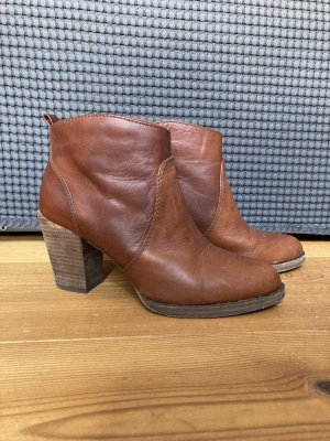 MICHAEL KORS Stiefeletten Highheel Ankle Boots Braun Gr. 36