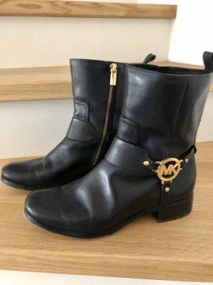 Michael Kors Halfhoge laarzen zwart-goud