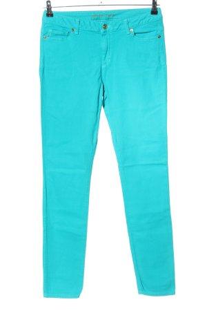 Michael Kors Straight-Leg Jeans türkis Casual-Look