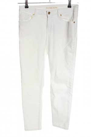 Michael Kors Straight-Leg Jeans weiß Casual-Look