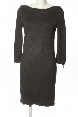 Michael Kors Strickkleid hellgrau meliert Casual-Look