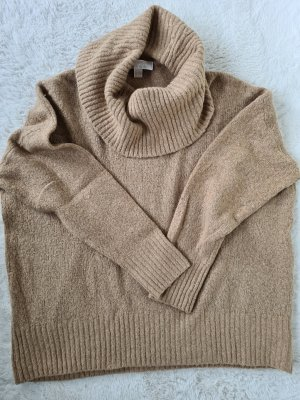 MICHAEL KORS Strickpullover, oversize, Gr.XL, beige