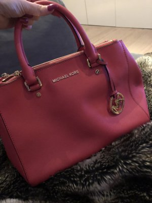 Michael Kors Sac Baril rouge clair-saumon
