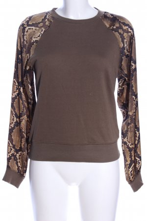Michael Kors Sweatshirt Animalmuster Casual-Look