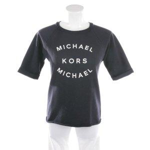 Michael Kors Sweatshirt in Marineblau und Weiß Gr. XS
