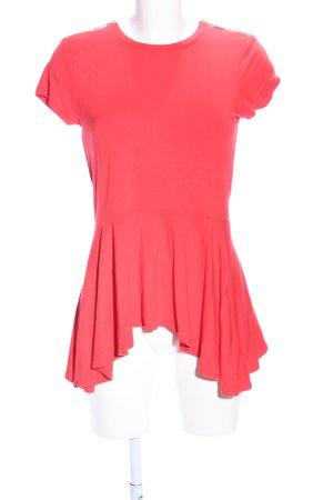 Michael Kors T-shirt rouge style décontracté