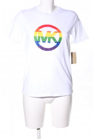 "Michael Kors T-Shirt ""Rainbow Pride Cotton Shirt"""