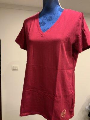 Michael Kors T-shirt rosso neon Cotone