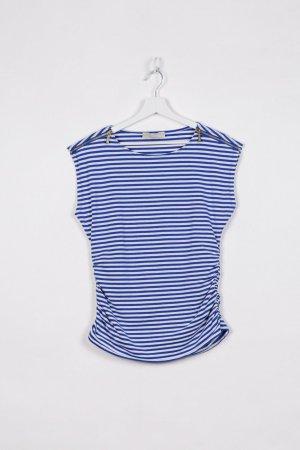 Michael Kors T-shirt biały-niebieski Bawełna
