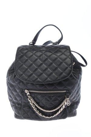Michael Kors Daypack black quilting pattern casual look