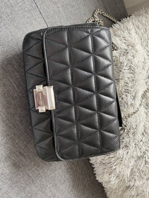 Michael Kors Shoulder Bag black-silver-colored