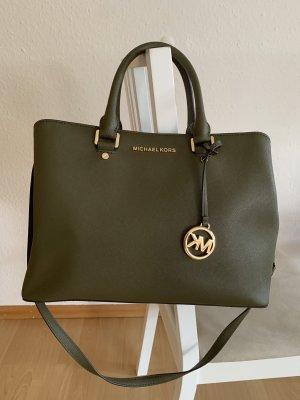 Michael Kors Carry Bag dark green-khaki