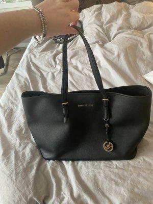 Michael Kors Carry Bag black-gold-colored