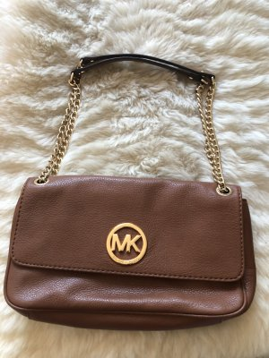 Michael Kors Clutch brown-gold-colored