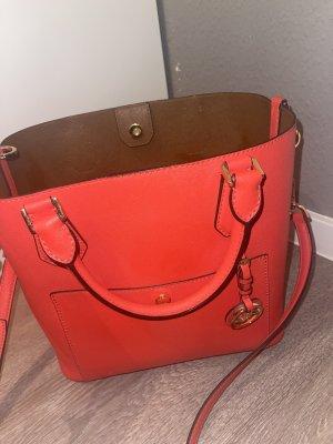 Michael Kors Shoulder Bag bright red-gold-colored