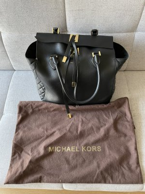 Michael Kors Borsa con manico nero