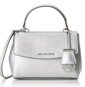 Michael Kors Tasche Ava mini Crossbody silber