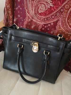 Michael Kors Briefcase black leather