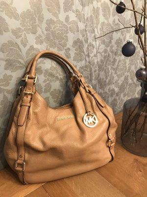 Michael Kors Bedford Tote Leather Bag Tasche cognac hellbraun