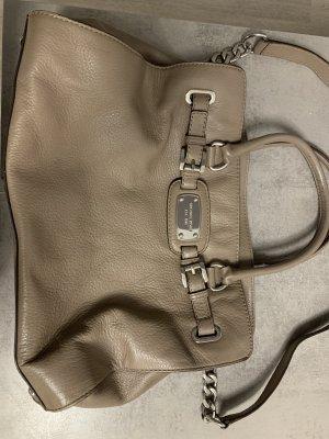 Michael Kors Tasche Beige/ Silber