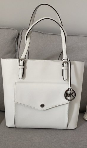 Michael Kors Shopper white-silver-colored