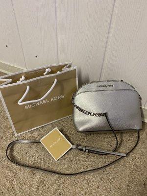 Michael Kors Tasche, Crossbody Dome, Silber