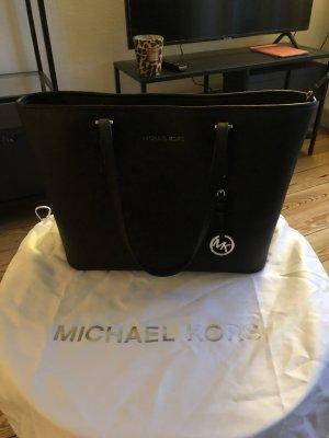 Michael Kors Bolso de compra negro Cuero