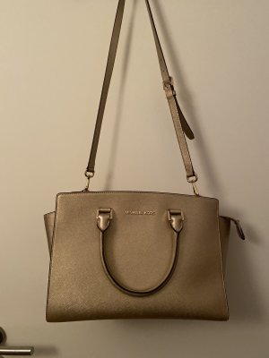 Michael Kors Shoulder Bag gold-colored