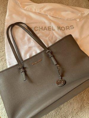 Michael Kors Tasche grau-beige