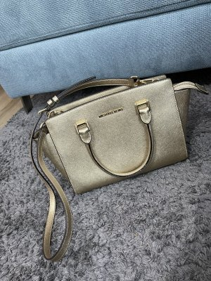 Michael kors tasche handtasche gold