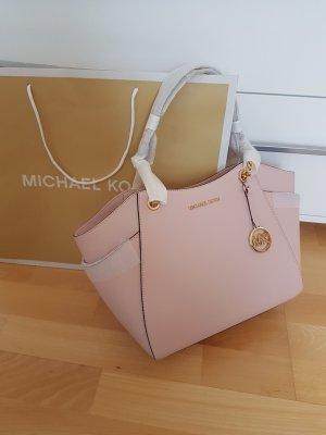 Michael Kors Tasche Handtasche rosa gold NEU Leder