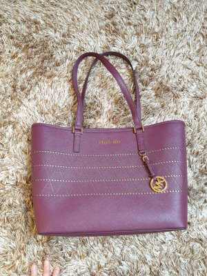 Michael kors tasche Handtasche shopper bordeaux