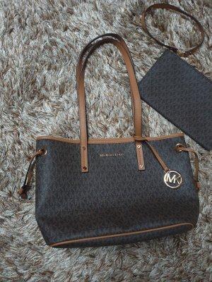 Michael kors tasche Handtasche shopper Cognac monogramm